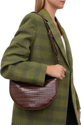 Женская сумка anais medium COCCINELLE коричневого цвета, арт. E1 GH2 13 01 01 | Фото 2