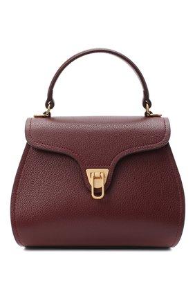 Женская сумка marvin small COCCINELLE бордового цвета, арт. E1 GP0 55 01 01 | Фото 1