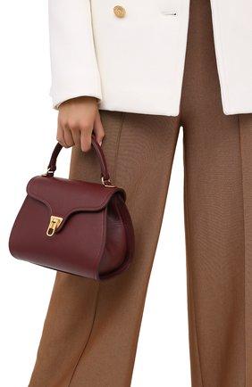 Женская сумка marvin small COCCINELLE бордового цвета, арт. E1 GP0 55 01 01 | Фото 2