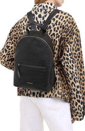 Женский рюкзак rendez-vous COCCINELLE черного цвета, арт. E1 GT0 14 01 01 | Фото 2
