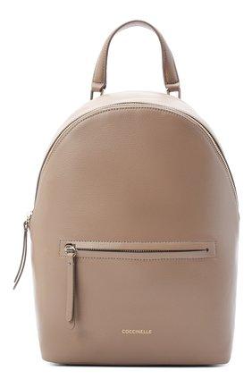 Женский рюкзак rendez-vous COCCINELLE бежевого цвета, арт. E1 GT0 14 01 01 | Фото 1