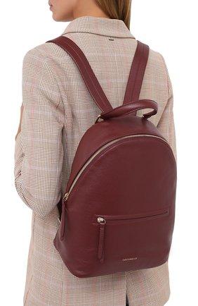 Женский рюкзак rendez-vous COCCINELLE бордового цвета, арт. E1 GT0 14 01 01 | Фото 2