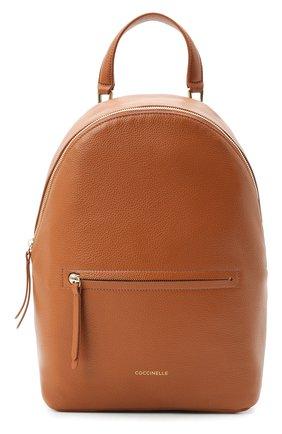 Женский рюкзак rendez-vous COCCINELLE коричневого цвета, арт. E1 GT0 14 01 01 | Фото 1