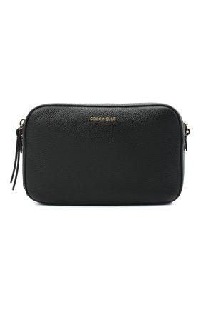 Женская сумка rendez-vous small COCCINELLE черного цвета, арт. E1 GT0 15 01 01 | Фото 1