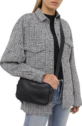 Женская сумка rendez-vous small COCCINELLE черного цвета, арт. E1 GT0 15 01 01 | Фото 2