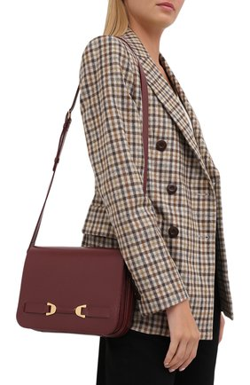 Женская сумка mathilde COCCINELLE бордового цвета, арт. E1 GT5 12 01 01 | Фото 2