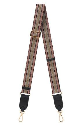 Женские ремень для сумки COCCINELLE бежевого цвета, арт. E3 GZ6 68 05 07 | Фото 1