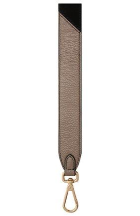 Женские ремень для сумки COCCINELLE черного цвета, арт. E3 GZ6 68 20 12 | Фото 2