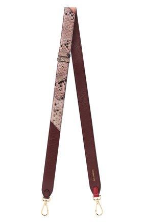 Женские ремень для сумки COCCINELLE коричневого цвета, арт. E3 GZ6 68 20 12 | Фото 1