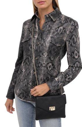 Женская сумка florie small COCCINELLE черного цвета, арт. E5 GV3 55 E5 07 | Фото 2