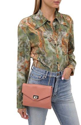 Женская сумка florie small COCCINELLE бежевого цвета, арт. E5 GV3 55 E5 07 | Фото 2
