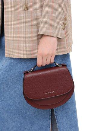 Женская сумка sirio mini COCCINELLE бордового цвета, арт. E5 GV3 55 H5 07 | Фото 2