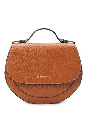 Женская сумка sirio mini COCCINELLE коричневого цвета, арт. E5 GV3 55 H5 07 | Фото 1