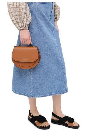 Женская сумка sirio mini COCCINELLE коричневого цвета, арт. E5 GV3 55 H5 07 | Фото 2