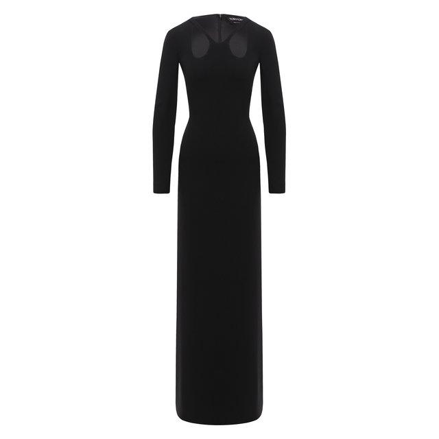 Шелковое платье-макси Tom Ford