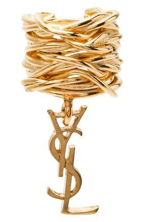 Женские серьга-кафф SAINT LAURENT золотого цвета, арт. 558200/Y1500 | Фото 1