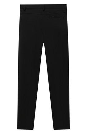 Детские брюки ALETTA черного цвета, арт. AMC000638N/4A-8A | Фото 2