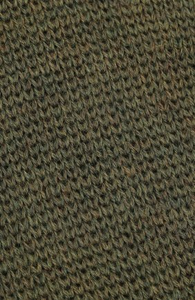Детского шерстяная шапка-балаклава IL TRENINO хаки цвета, арт. 20 4065/E3 | Фото 3 (Материал: Шерсть)