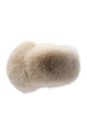 Меховая шапка-ушанка   Фото №1