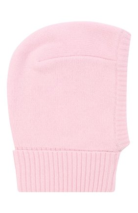Детского шапка-балаклава IL TRENINO розового цвета, арт. 20 8222/E0 | Фото 2