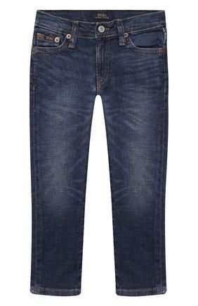 Детские джинсы POLO RALPH LAUREN синего цвета, арт. 321784322   Фото 1