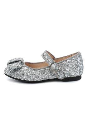 Детские туфли AGE OF INNOCENCE серебряного цвета, арт. ELLEN GLITTER | Фото 2