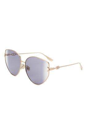 Женские солнцезащитные очки DIOR фиолетового цвета, арт. DI0RGIPSY1 000 S0 | Фото 1