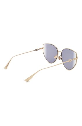Женские солнцезащитные очки DIOR фиолетового цвета, арт. DI0RGIPSY1 000 S0 | Фото 4