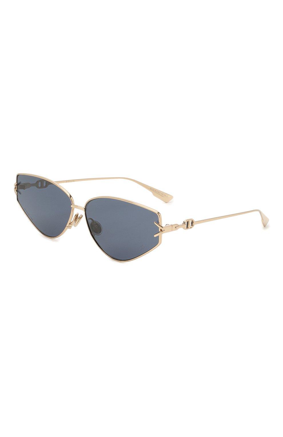 Женские солнцезащитные очки DIOR синего цвета, арт. DI0RGIPSY2 J5G | Фото 1