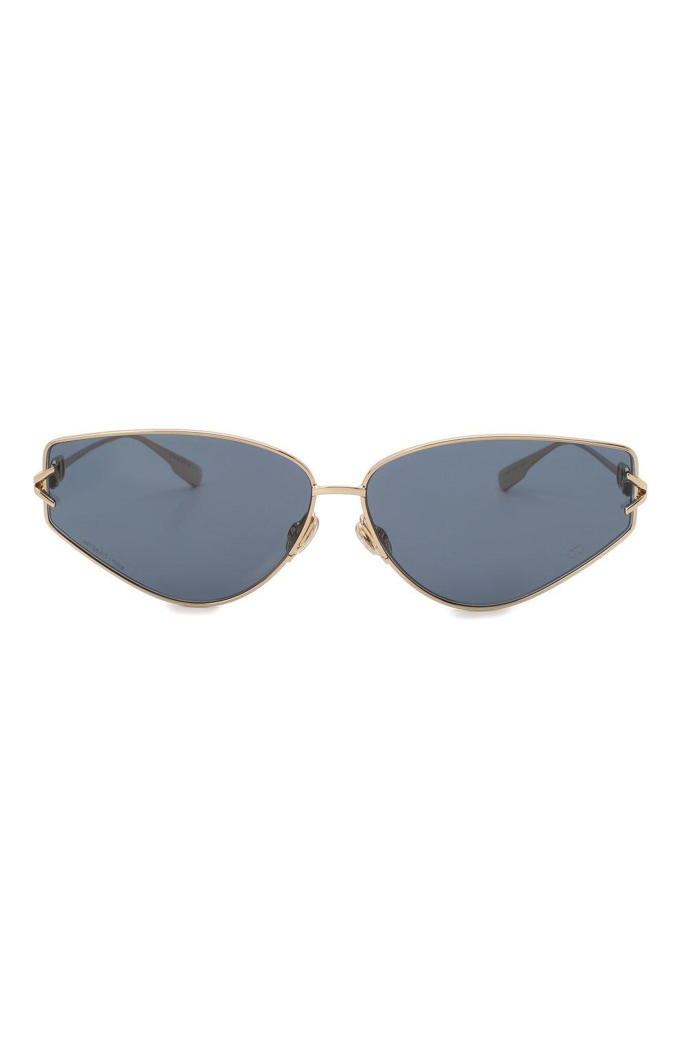 Женские солнцезащитные очки DIOR синего цвета, арт. DI0RGIPSY2 J5G | Фото 3