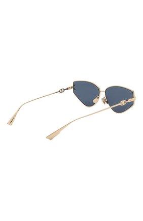 Женские солнцезащитные очки DIOR синего цвета, арт. DI0RGIPSY2 J5G | Фото 4