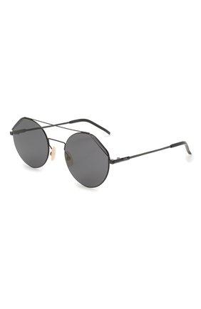 Женские солнцезащитные очки FENDI черного цвета, арт. M0042 807   Фото 1