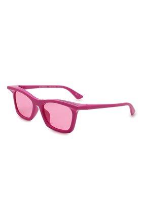 Мужские солнцезащитные очки BALENCIAGA розового цвета, арт. BB0099S 003 | Фото 1