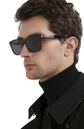 Мужские солнцезащитные очки GUCCI черного цвета, арт. GG0746S 001 | Фото 2