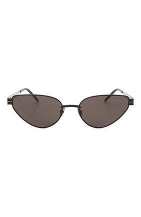 Женские солнцезащитные очки SAINT LAURENT черного цвета, арт. SL M51 001 | Фото 3