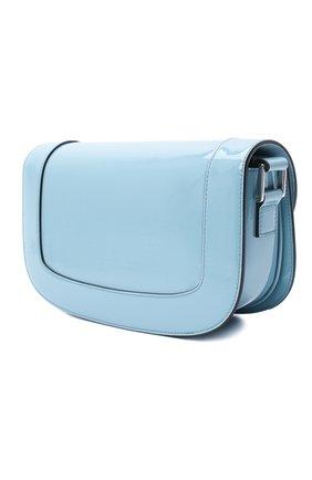 Женская сумка valentino garavani supervee VALENTINO голубого цвета, арт. UW2B0G09/ZEE | Фото 3