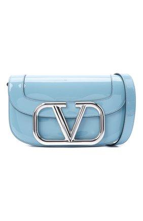 Женская сумка valentino garavani supervee VALENTINO голубого цвета, арт. UW2B0G09/ZEE | Фото 5