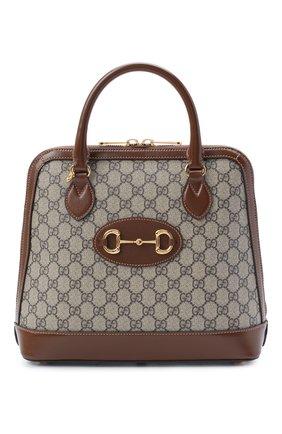Женская сумка 1955 horsebit GUCCI коричневого цвета, арт. 620850/92TCG | Фото 1