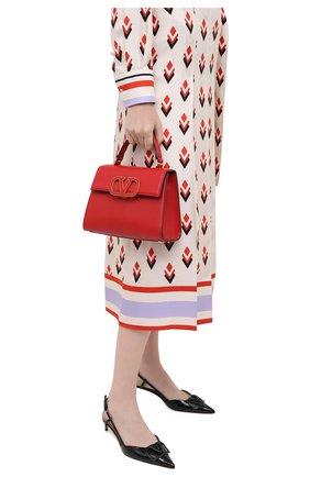Женская сумка valentino garavani vsling VALENTINO красного цвета, арт. UW2B0F53/CSU   Фото 2