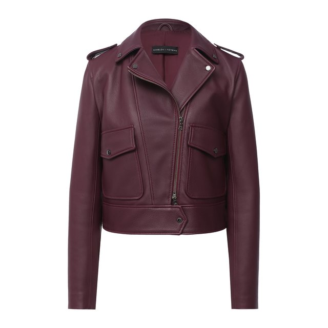 Кожаная куртка Maslov