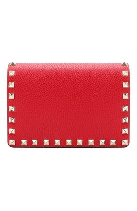 Женская сумка valentino garavani rockstud VALENTINO красного цвета, арт. UW2P0249/VSH | Фото 1