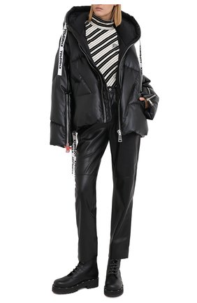 Женский пуховик KHRISJOY черного цвета, арт. BFPW028/PU | Фото 2