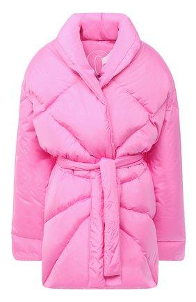 Женский пуховик KHRISJOY розового цвета, арт. BFPW037/NY | Фото 1