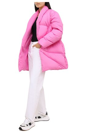 Женский пуховик KHRISJOY розового цвета, арт. BFPW037/NY | Фото 2