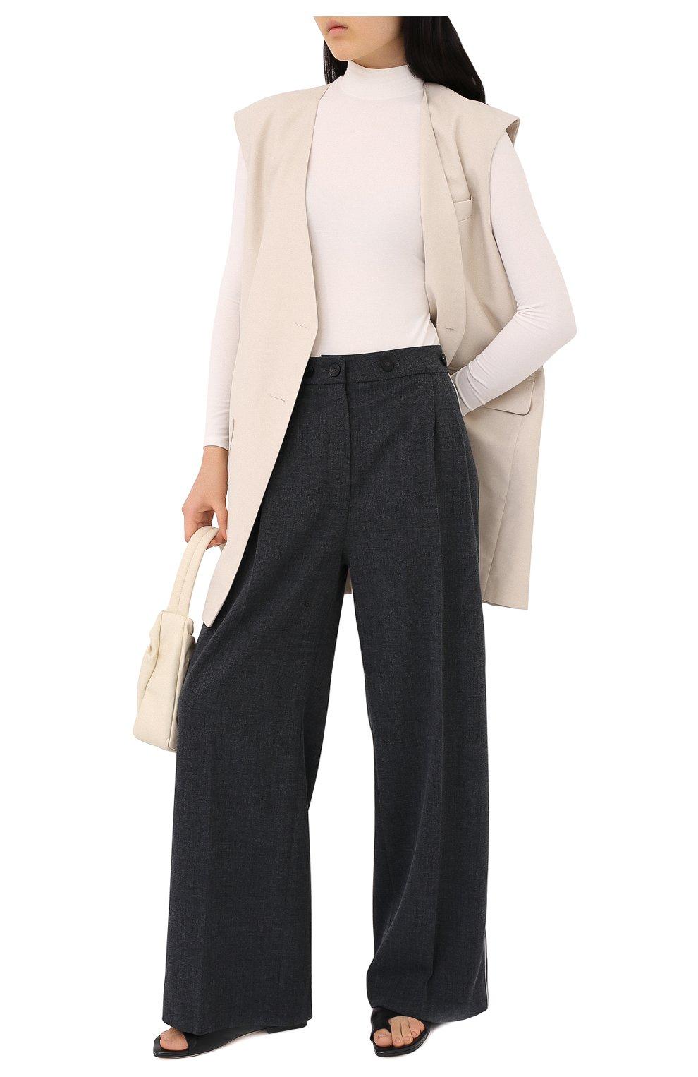 Женские брюки RUBAN серого цвета, арт. RPW20/21-7.1.45.4 | Фото 2