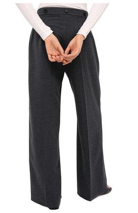 Женские брюки RUBAN серого цвета, арт. RPW20/21-7.1.45.4 | Фото 4