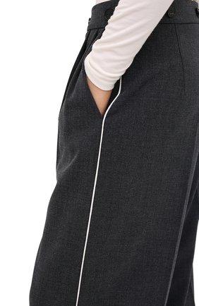 Женские брюки RUBAN серого цвета, арт. RPW20/21-7.1.45.4 | Фото 5