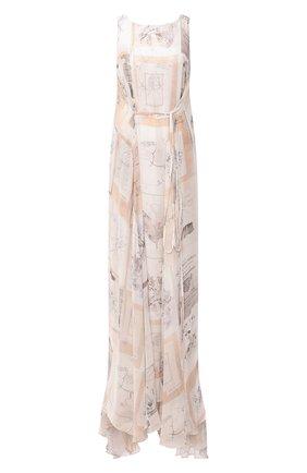 Женское шелковое платье RUBAN разноцветного цвета, арт. RFW20/21-12.2.52.0.3 | Фото 1