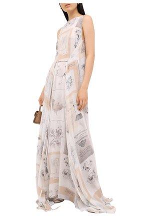 Женское шелковое платье RUBAN разноцветного цвета, арт. RFW20/21-12.2.52.0.3 | Фото 2