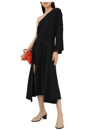Женское хлопковое платье RUBAN черного цвета, арт. RPW20/21-10.3.45.2 | Фото 2